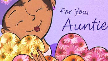 For Aunt Card Messages