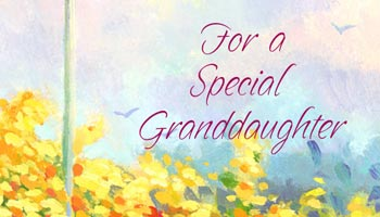 For Granddaughter Card Messages