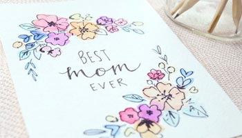 For Mom, Mother, Mommy Card Messages
